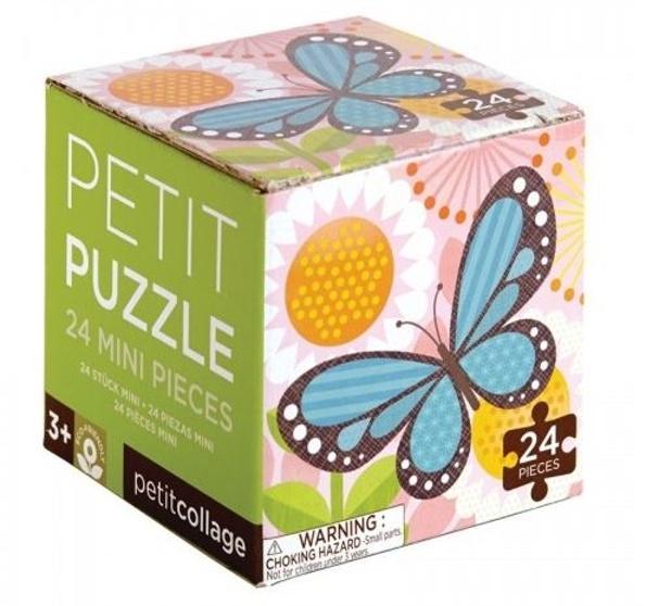 Petit Collage Puzzel vlinder 24 delig