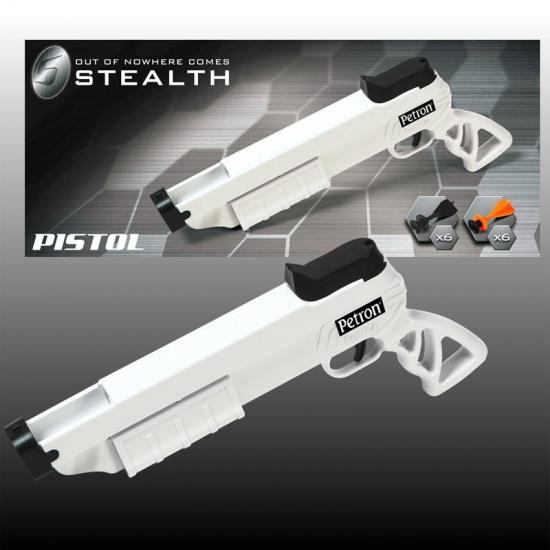 Petron Stealth Pistool kunststof wit