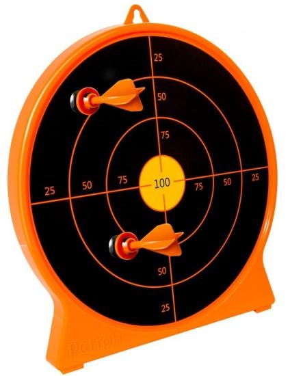 Petron SureShot Target kunststof oranje/zwart