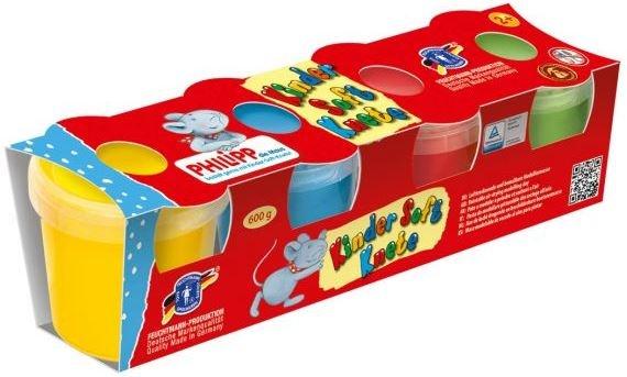 Feuchtmann Philipp Die Maus Kinder Soft Knete Klei 4 x 150 gram