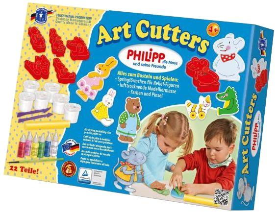 Feuchtmann Philipp Die Maus Knutselset Art Cutters 22 Delig