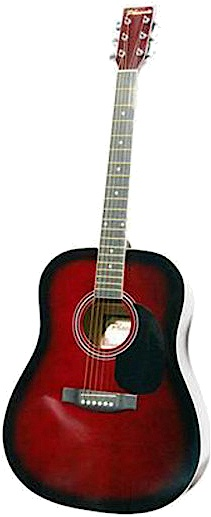 PHOENIX PHOENIX Western gitaar zwart