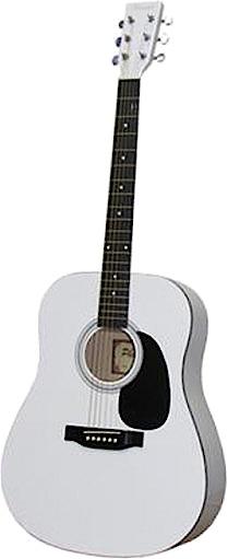 PHOENIX PHOENIX Western gitaar wit