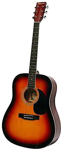 PHOENIX PHOENIX Western gitaar bruin-cognac