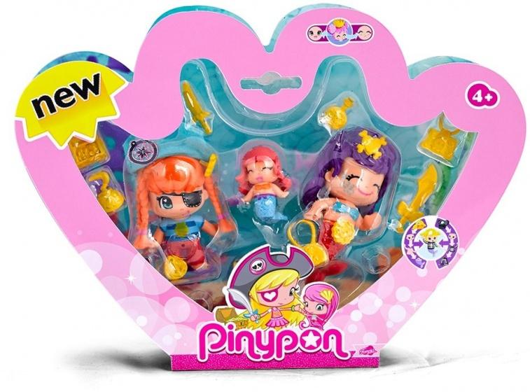 Pinypon Fantasiefiguur Pinypon Piraat Met Zeemeerminnen