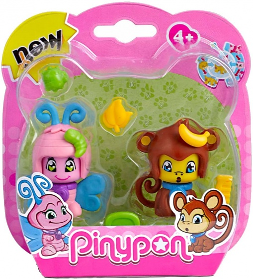 Pinypon Huisdier Pinypon 2 Pack (aapje)