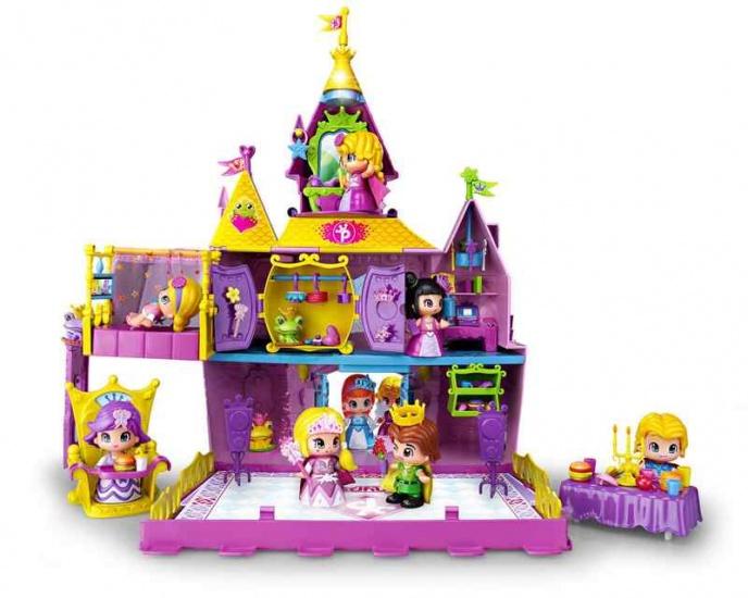 Pinypon kasteel met drie figuren