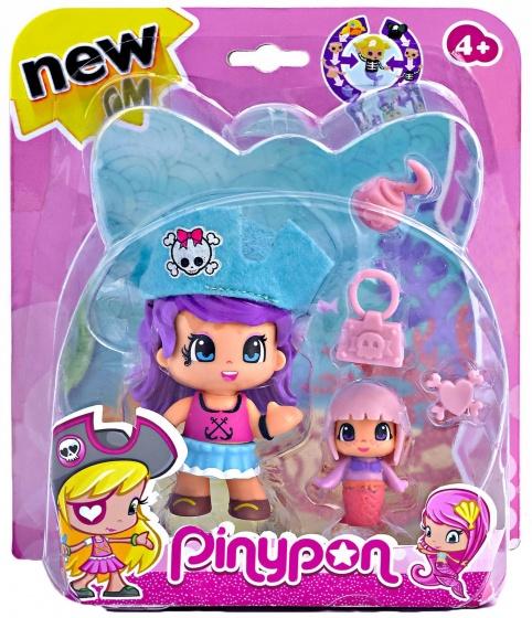 Pinypon Speelfiguur Pinypon: Piraat Met Zeemeermin (blauw)