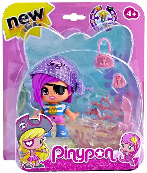 Pinypon Speelfiguur Pinypon: Piraat Met Zeemeermin (paars)