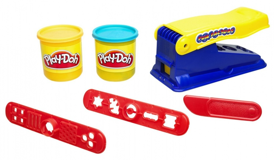 Play Doh Fun Factory kleiset 6 delig