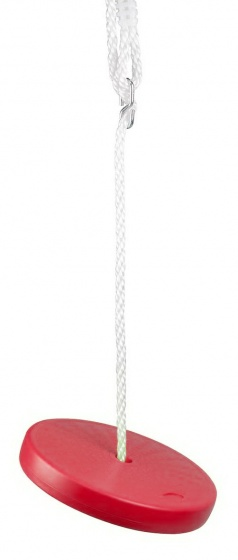 Playfun kunststof schotelschommel rood 28,5 cm