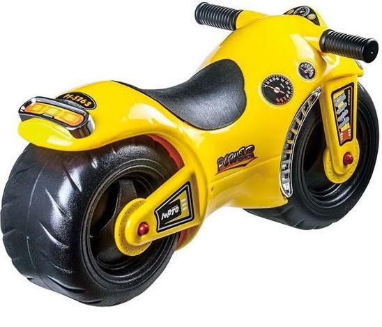 Playfun loopfiets motor Junior Geel