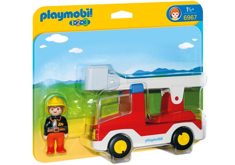 1.2.3 - Brandweerwagen met ladder