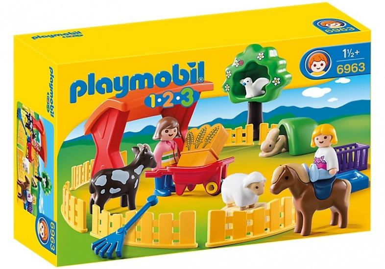 PLAYMOBIL 1, 2, 3: Kinderboerderij (6963)