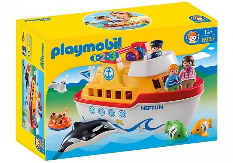 PLAYMOBIL 1, 2, 3: Meeneem schip (6957)