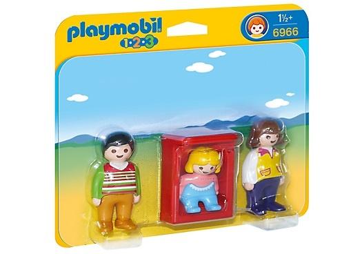 PLAYMOBIL 1, 2, 3: Ouders met baby (6966)