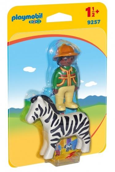 1.2.3 - Verzorger met zebra
