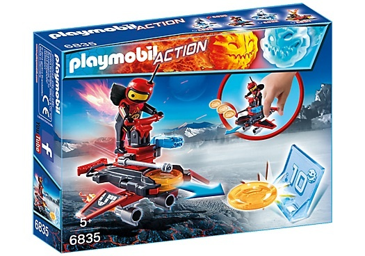 PLAYMOBIL Action: Firebot met Disc Shooter (6835)
