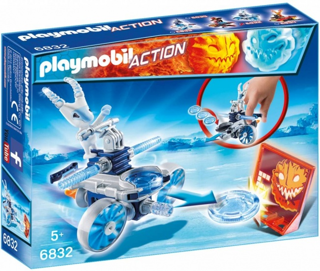 PLAYMOBIL Action: Frosty Met Disc Shooter (6832)