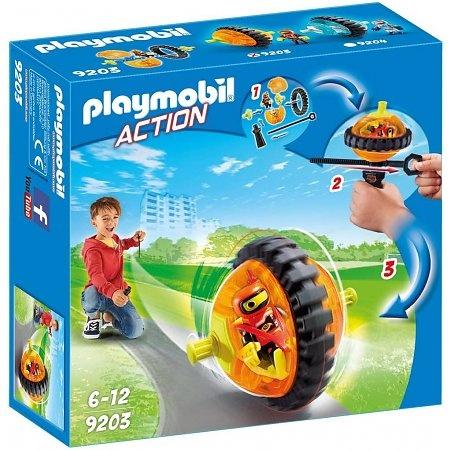 Monobike oranje Playmobil (9203)