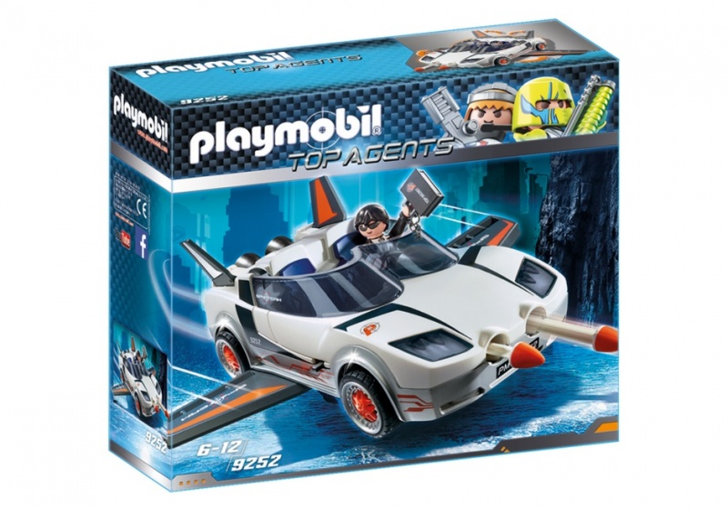 PLAYMOBIL Agent P.'s Super racer (9252)