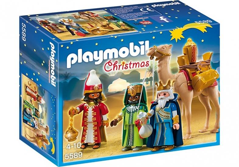 PLAYMOBIL Christmas: 3 Koningen met cadeau's (5589)