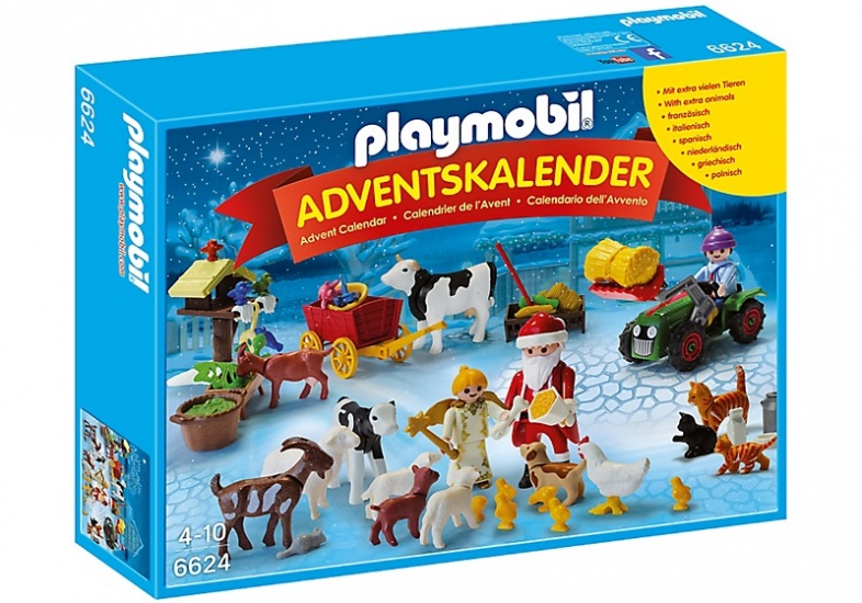 PLAYMOBIL Christmas: Adventskalender Kerst (6624)