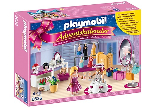 PLAYMOBIL Christmas: Adventskalender Verkleedfeestje (6626)
