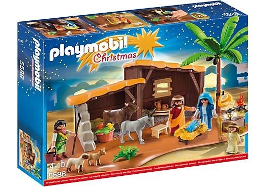 PLAYMOBIL Christmas: Grote kerststal (5588)