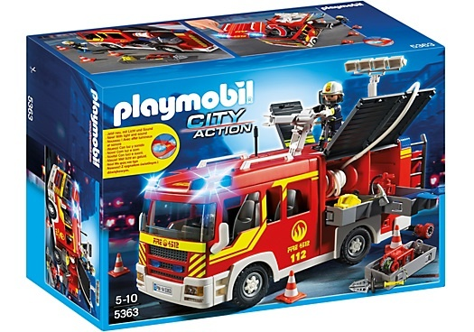 Playmobil City Action Brandweer Pompwagen 5363
