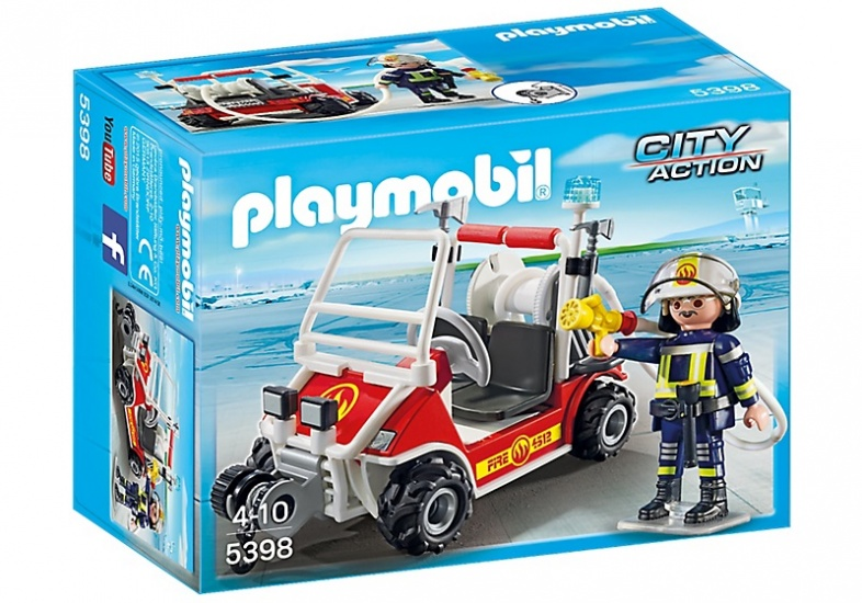 PLAYMOBIL City Action: Brandweerbuggy (5398)