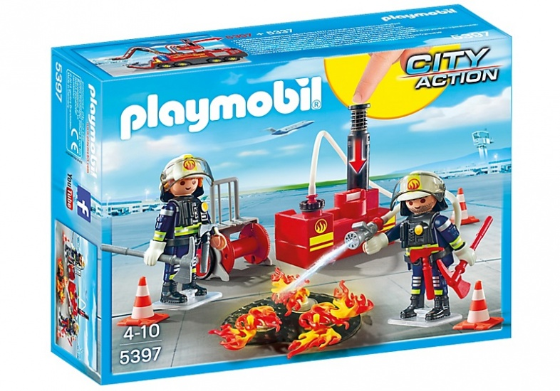 PLAYMOBIL City Action: Brandweermannen met blusmateriaal (5397)