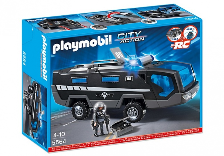 PLAYMOBIL City Action: Interventietruck (5564)
