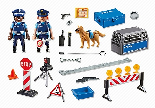 PLAYMOBIL City Action: Politie wegversperring (6924) - Internet-Toys