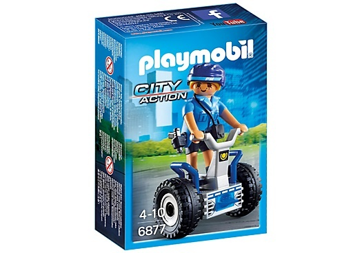 PLAYMOBIL City Action: Politieagente met balans racer (6877)