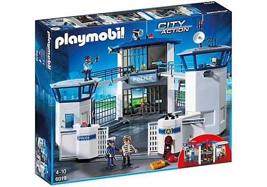 PLAYMOBIL City Action: Politiebureau met gevangenis (6919)