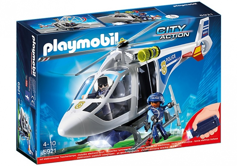 PLAYMOBIL City Action: Politiehelikopter (6921)