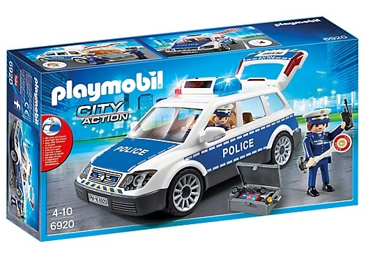 Politiepatrouille met licht en geluid Playmobil (6920)