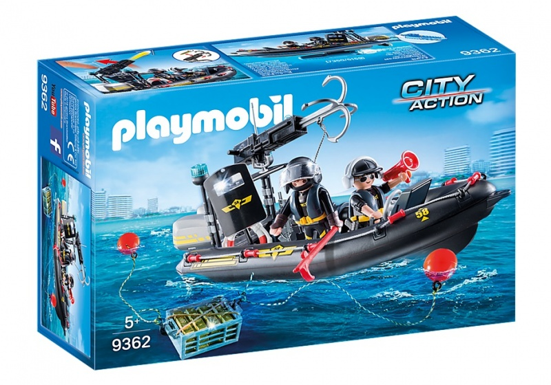 PLAYMOBIL City Action: SIE rubberboot zwart 27 x 12 x 12 cm