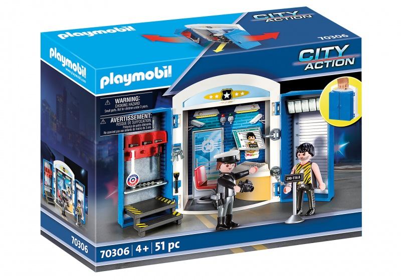 Playmobil City Actio Speelbox Politiestation