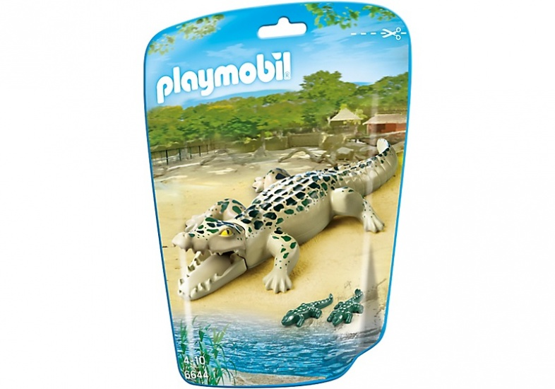 PLAYMOBIL City Life: Alligator met baby's (6644)