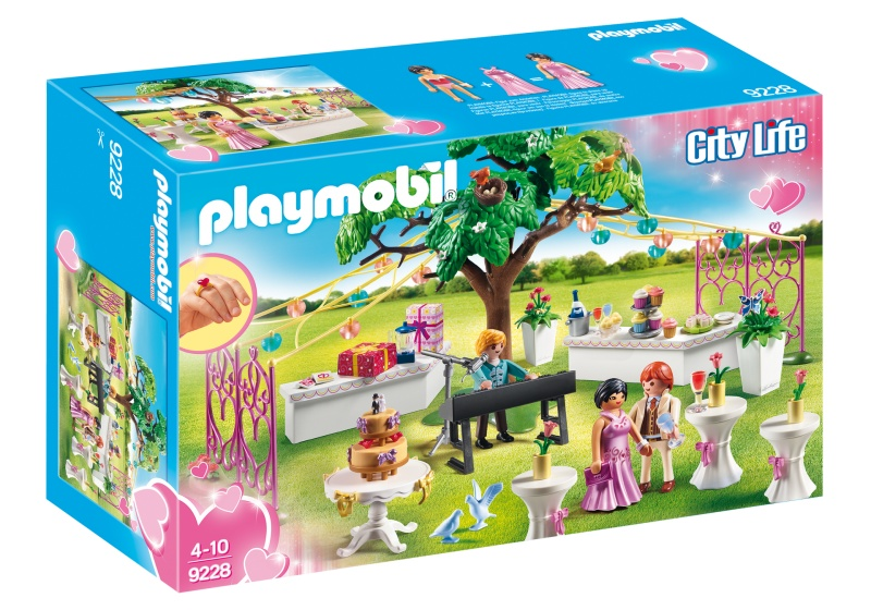 PLAYMOBIL City Life: Bruiloftsfeest (9228)