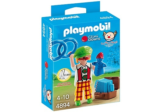 PLAYMOBIL City Life: Cliniclown (4894)