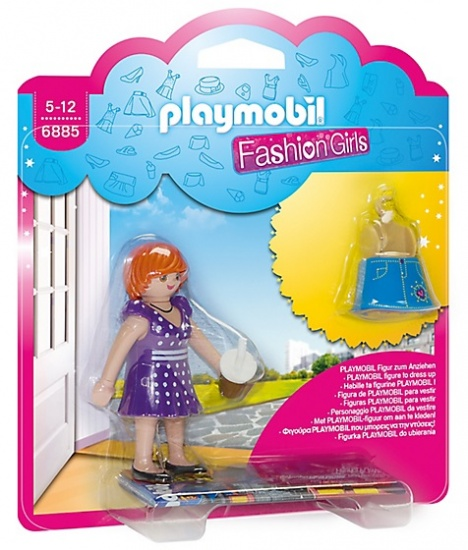 PLAYMOBIL City Life: Fashion Girl Stad (6885)