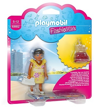 PLAYMOBIL City Life: Fashion Girl Zomer (6882)
