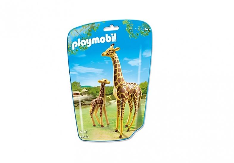 PLAYMOBIL City Life: Giraf met jong (6640)