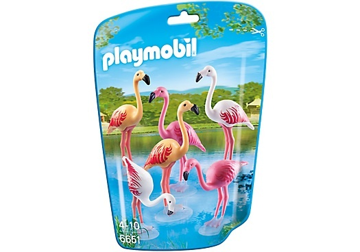 PLAYMOBIL City Life: Groep flamingo's (6651)