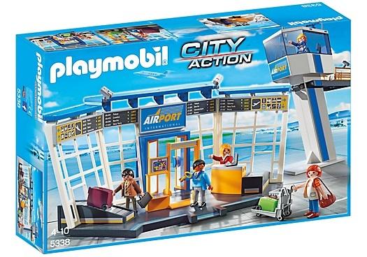 PLAYMOBIL City Life: Luchthaven met verkeerstoren (5338)