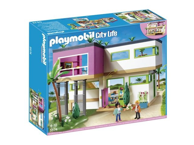 Salon Villa Moderne Play Mobil : Playmobil City Life