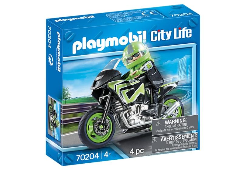 Playmobil 70204 City Life Motorrijder